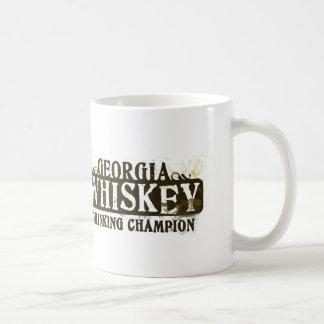Georgia Whiskey Drinking Champion Coffee Mug