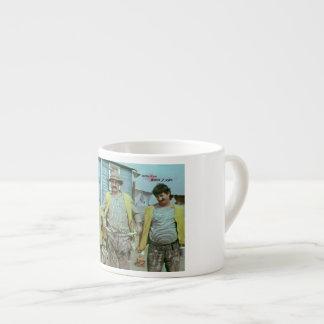 Georgian comedians espresso cup