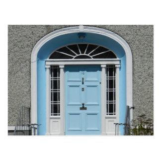 Georgian door in Birr - Ireland Postcard