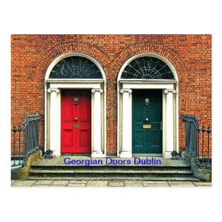 Georgian Doors Postcard
