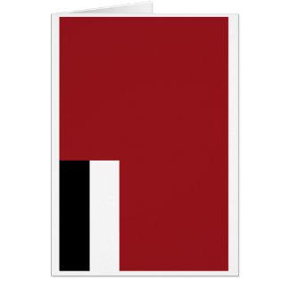 Georgian flag card