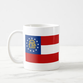 Georgian Flag + Map Mug