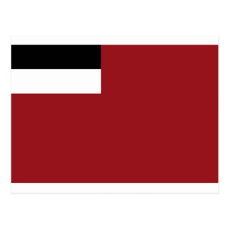 Georgian flag postcard
