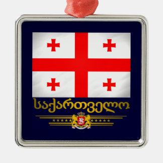 Georgian Pride Ornaments