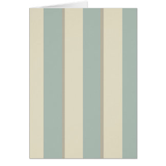 Georgian Stripe Eau de Nil Card