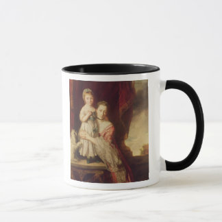 Georgiana, Countess Spencer with Lady Mug