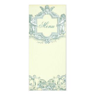 Georgiana (Cream) Wedding Menu Card