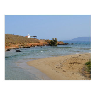 Georgioupoli Beach, Crete Postcard