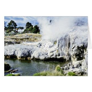 Geothermal Activity, Rotorua, North Island Card
