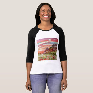 Geotic Bella+Canvas 3/4 Sleeve Raglan T-Shirt