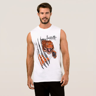 Geppetto Tiger Rip Sleeveless Shirt