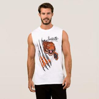 Geppetto Tiger Rip Sleeveless Shirt