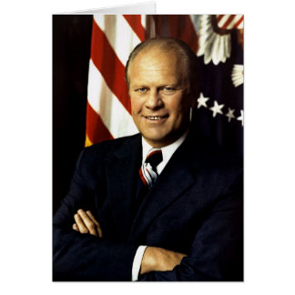 Gerald Ford Greeting Card