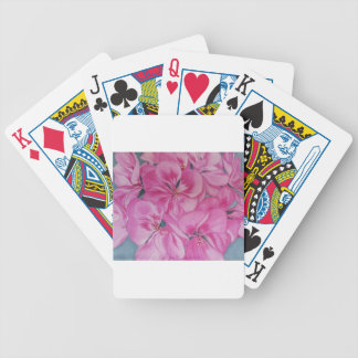 Geranium Bicycle Playing Cards