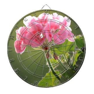 geranium dart board