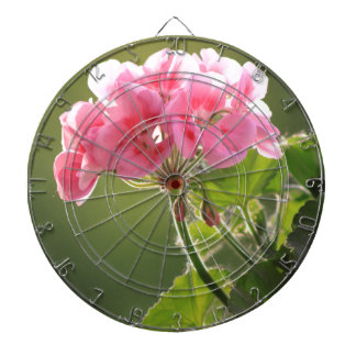 geranium dartboard