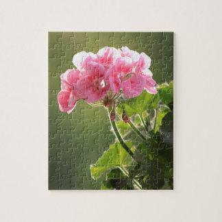 geranium jigsaw puzzle