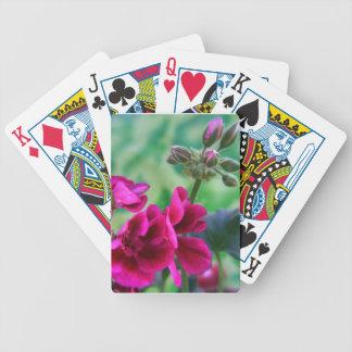 Geranium Playing Cards
