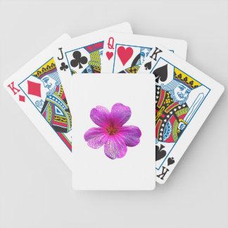 Geranium Poker Deck