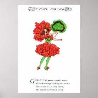 Geranium Poster