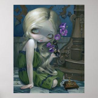 Geraniums ART PRINT magic realism pop surrealism
