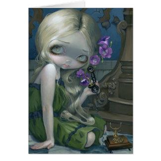 """Geraniums"" Greeting Card"