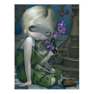 """""""Geraniums"""" Postcard"""