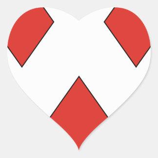 Gerard Heart Sticker
