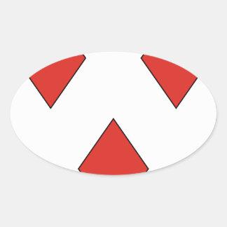 Gerard Oval Sticker