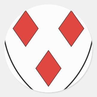 Gerard Round Sticker