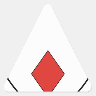Gerard Triangle Sticker