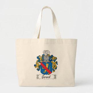 Gerardi Family Crest Jumbo Tote Bag