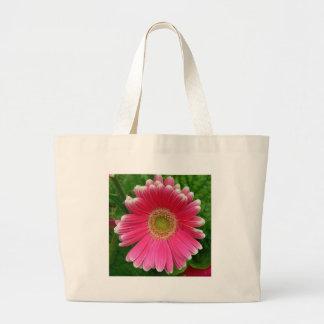 Gerber Daisies Pink Flower Nature Bag