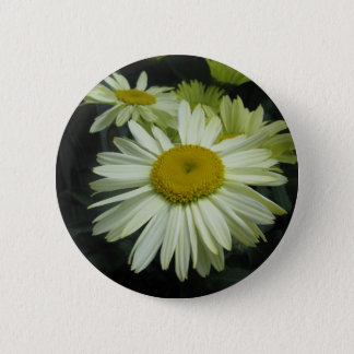 Gerber Daisy Shining Bright 2 Inch Round Button