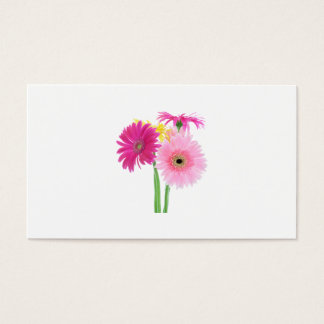 Gerbera Daisies Pink Business Card