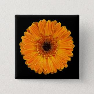Gerbera Daisy 2 Inch Square Button
