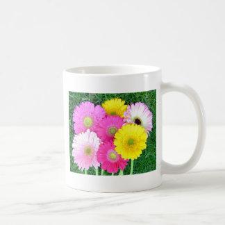 Gerbera Daisy Colors Basic White Mug