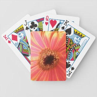 Gerbera Daisy Flower Playing Cards