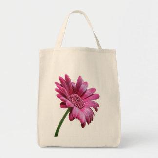Gerbera Daisy Grocery Tote Bag