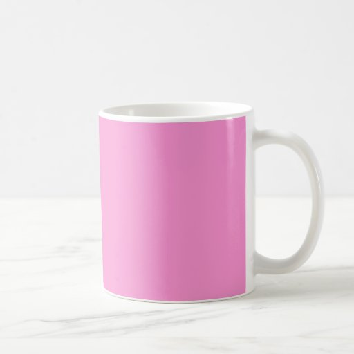 Gerbera Daisy - Light Pink Background. Chic Color Mugs