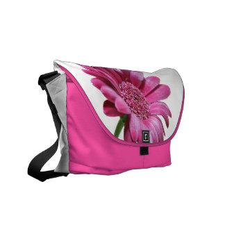 Gerbera Daisy Messenger Bag