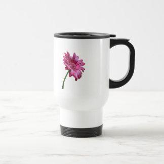 Gerbera Daisy Plastic Travel Mug