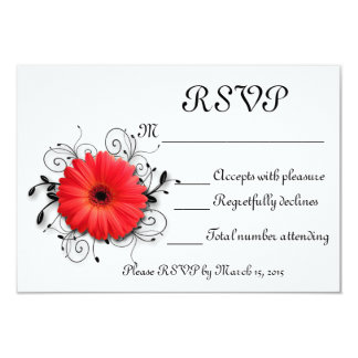 Gerbera Daisy Theme Card