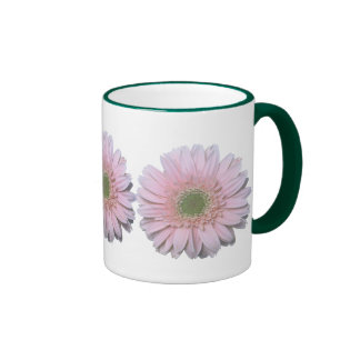 Gerbera Diasy Ringer Coffee Mug