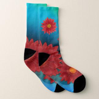 Gerbera Flower Socks