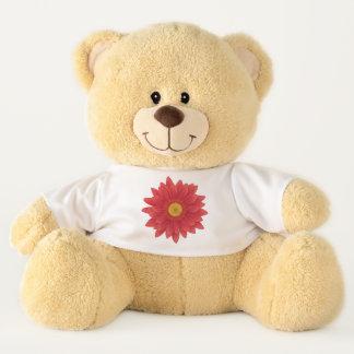 Gerbera Flower Teddy Bear