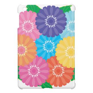 Gerbera flowers cover for the iPad mini