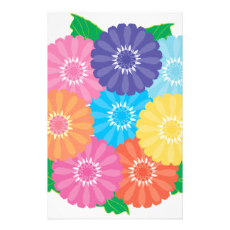 Gerbera flowers stationery