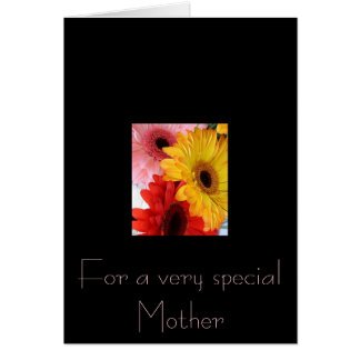 gerberas galore greeting card
