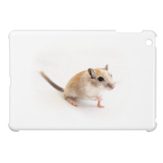 Gerbil Cute Baby Animal Pet Gerbils Template iPad Mini Cover
